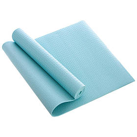 Коврик для фитнеса и йоги PVC 4мм размер 1,73мx0,61мx4мм (FI-1508)