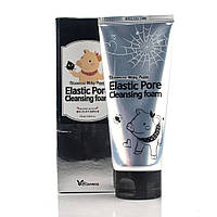 Вугільна Пінка-маска для вмивання Elizavecca Milky Piggy Elastic Pore Cleansing Foam /