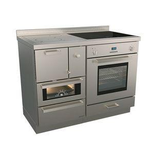 Печка отопительно варочная Rizzoli RNE 110 Combi (дрова, газ электричество)