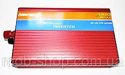 Инвертор Power Inverter Powerone 2000W 12V в 220V с функцией плавного пуска от аккумулятора