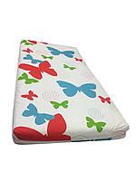 Матрац дитячий ортопедичний Солодких снів Eco Cotton Comfort Elite 120*60*9 см різнокольорові метелики