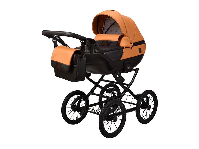 Дитяча коляска 2 в 1 Angelina Phaeton Classic теракот color 30