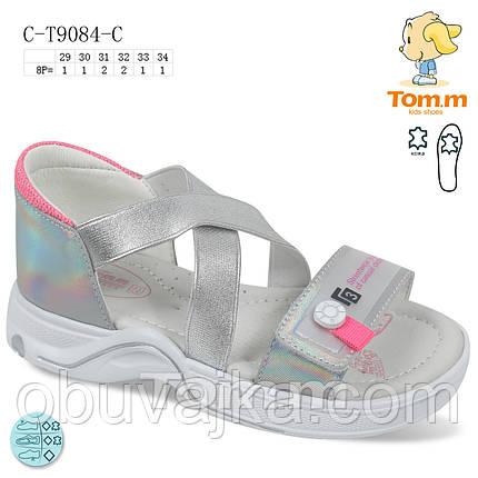 Летняя обувь оптом Босоножки  для девочки от производителя Tom m (рр 29-34), фото 2