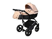 Дитяча коляска 2 в 1 Angelina Cross Solo бежева color 28