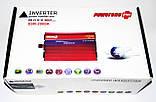 Инвертор Power Inverter Powerone 2000W 12V в 220V с функцией плавного пуска, фото 5