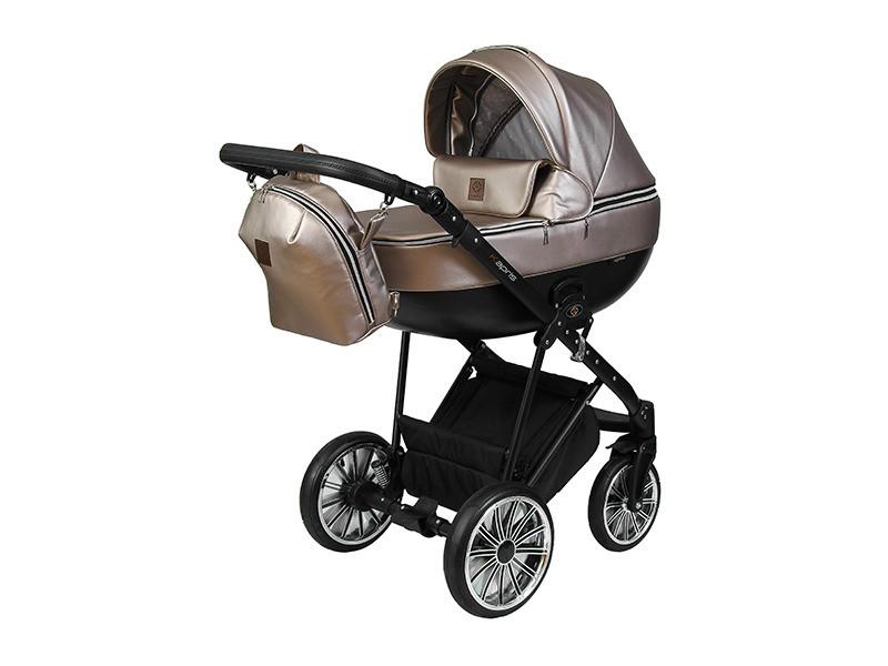 Детская коляска 2 в 1 Angelina Kapris Luxury бежевая color 15