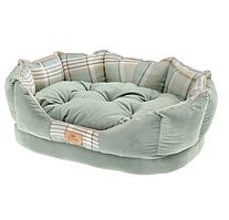 Лежак для собак и кошек Ferplast CHARLES 45 x 35 x h 13 cm - 45, Зелёный