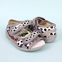Тапочки на мальчика серия детская текстильная обувь тм Waldi размер 23,24,25,26,27,30