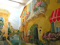 Интерьерная фреска в квартире