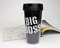 """Стакан для кофе c двойными стенками и крышкой """"Big Boss"""" - дорожный стакан с крышкой"""