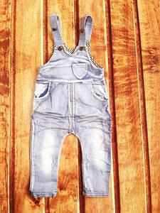 Комбінезон дитячий джинсовий синій 9098 74