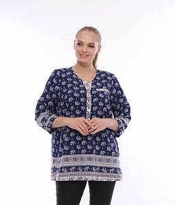 Річна блузка CR-505101-BLU