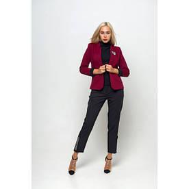 Пиджак Femine бордовый