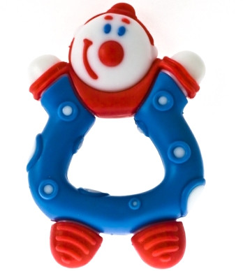 """Прорізувач NUBY """"Смішинка: Клоун"""""""