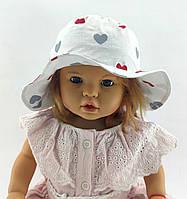 Детская панамка 48 50 52 и 54 размер для девочки детские панамки головные уборы хлопок панама, фото 1
