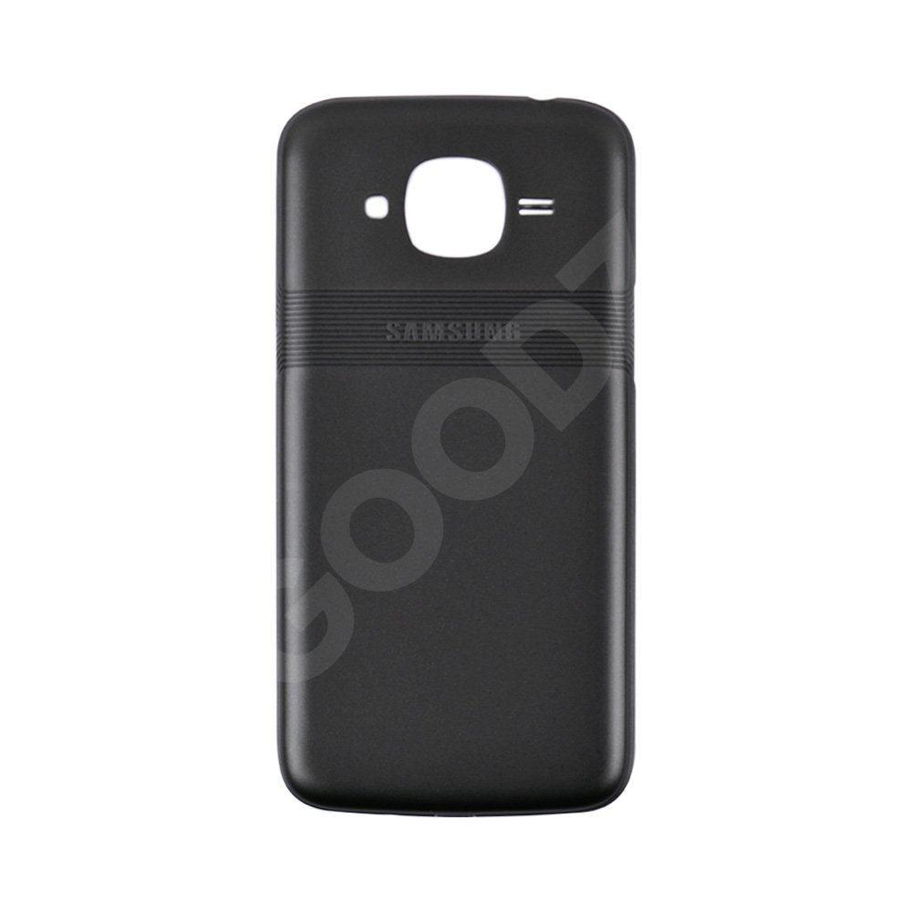 Задня кришка для Samsung J210 Galaxy J2 (2016), колір чорний, оригінал
