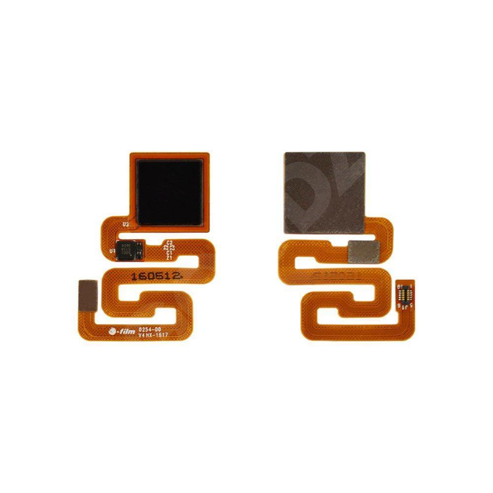 Шлейф для Xiaomi Redmi 3 / 3S з датчиком відбитка, колір чорний
