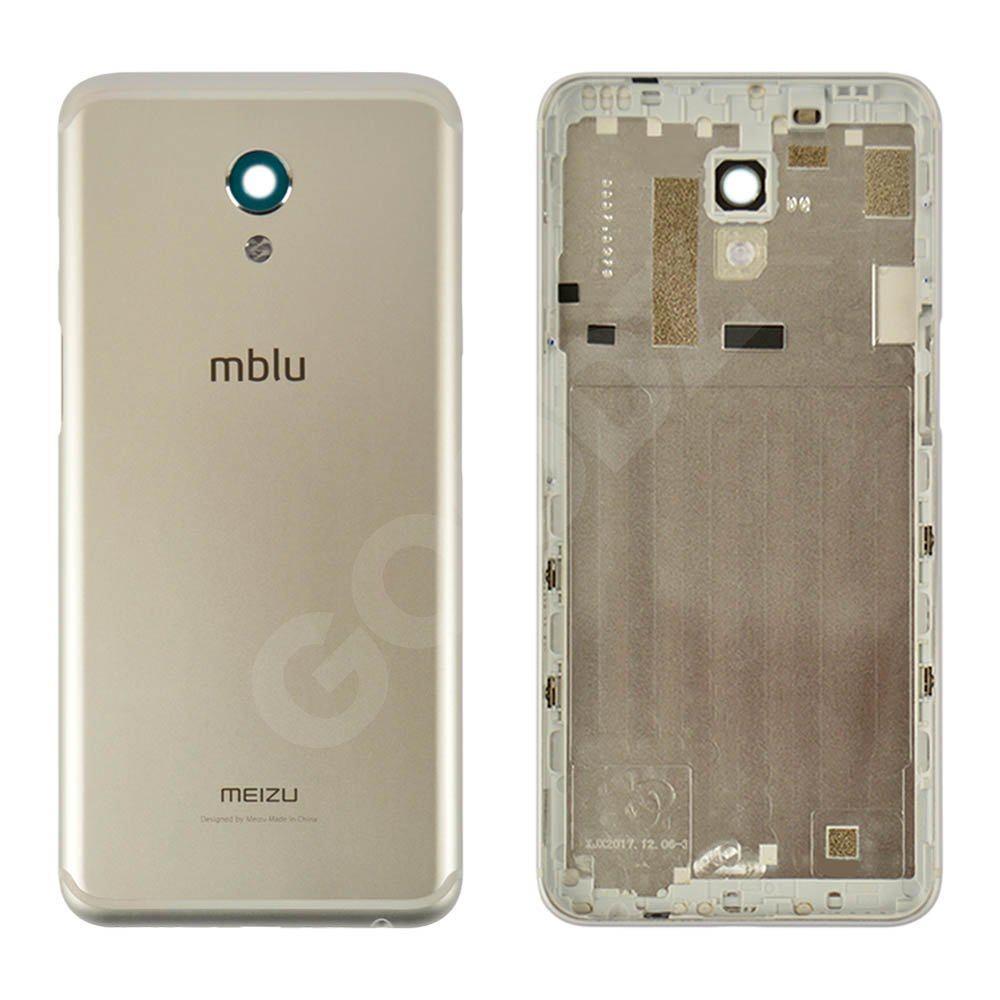 Задняя крышка для Meizu M6S, цвет серебро