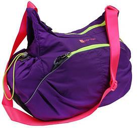 Женская спортивная сумка 23L Corvet HB4610-04 фиолетовая