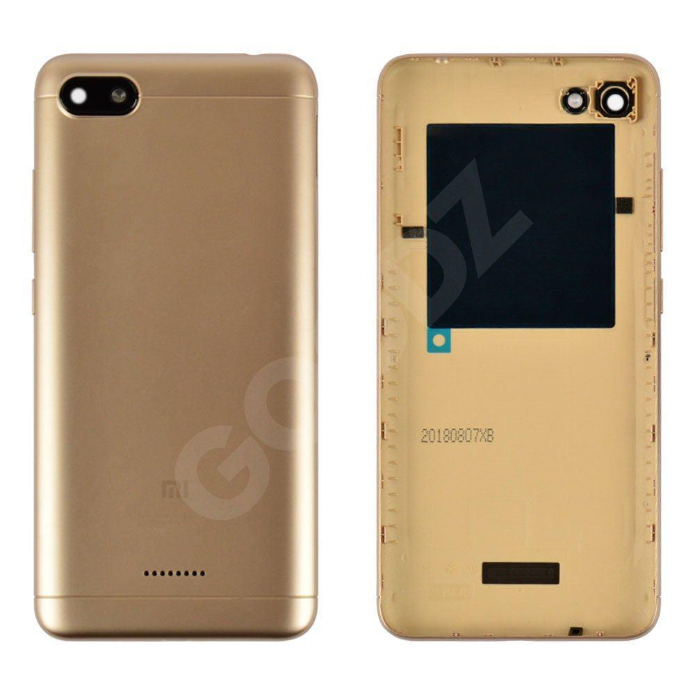 Задняя крышка для Xiaomi Redmi 6A, цвет золотой