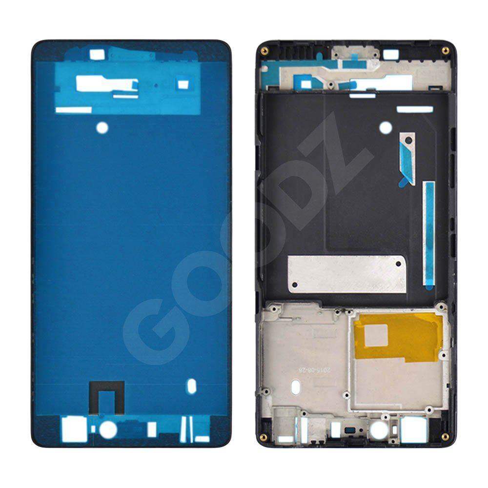 Рамка (середня частина) для Xiaomi Mi4C, колір чорний