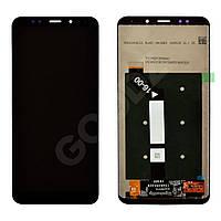 Дисплей для Xiaomi Redmi 5 Plus с таскрином в сборе, цвет черный