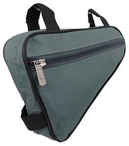 Велосипедна сумка 1,5 L Loren ARS101 grey сіра