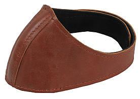 Автопятка кожаная для женской обуви коричневая 608835-16