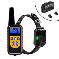 Ошейник электронный для дрессировки собак с пультом ДУ DTC-800, 100632