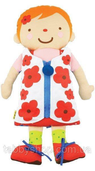 Развивающая игрушка K'S KIDS Учимся одеваться 2 в 1