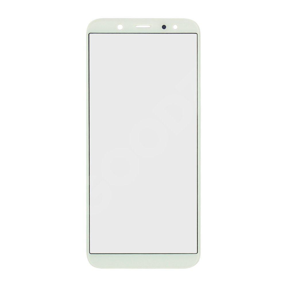 Скло корпусу для Samsung A600 Galaxy A6 (2018), колір білий