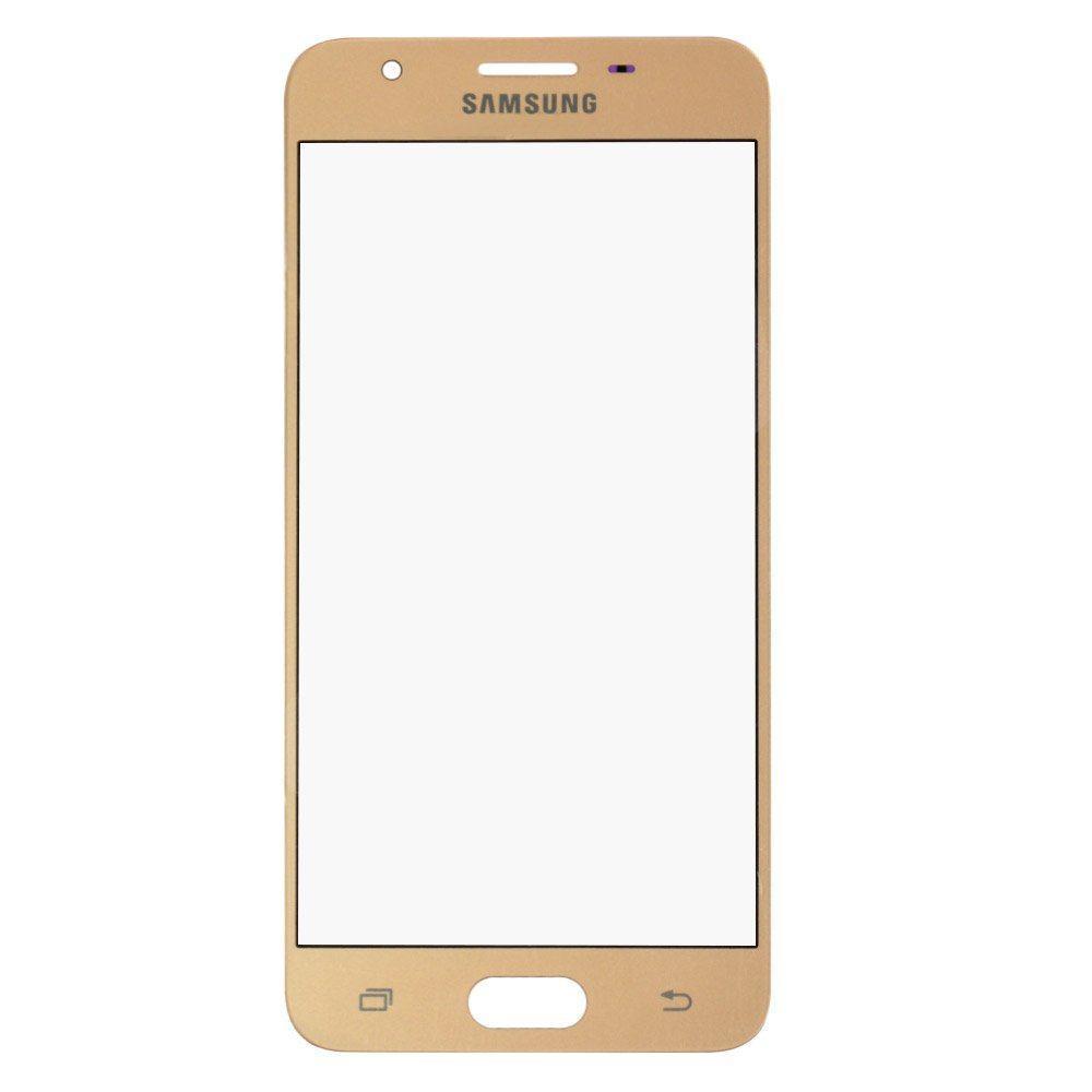 Стекло корпуса для Samsung G570F/DS Galaxy J5 Prime (2016), цвет золотой