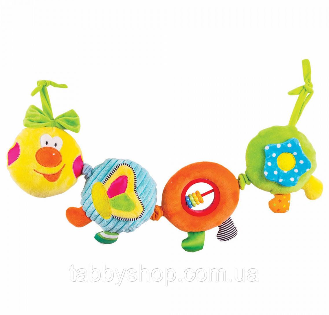 Іграшка-підвіска Happy Snail Весела гусеничка