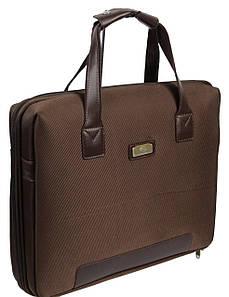 """Сумка-кейс для ноутбука 14,1"""", Professional S923.23 коричнева"""