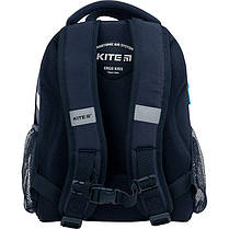 Рюкзак школьный каркасный Kite Education Cross-country K21-555S-1 ЧП Бабчи ранец рюкзак ranec, фото 3