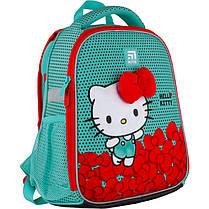 Рюкзак школьный каркасный Kite Education Hello Kitty HK21-555S ЧП Бабчи ранец рюкзак ranec, фото 2