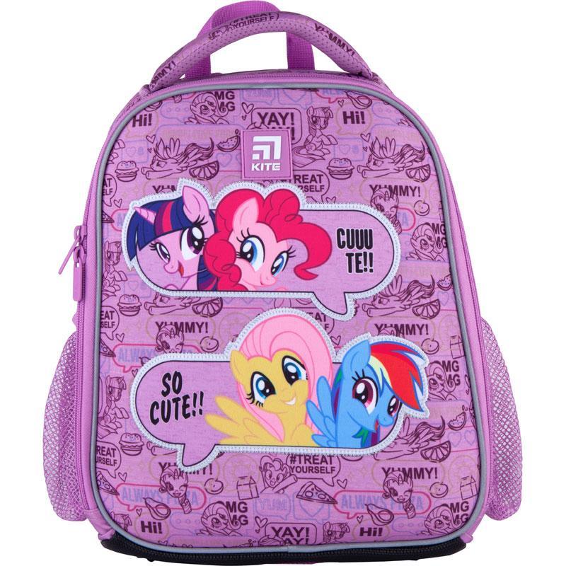 Рюкзак школьный каркасный Kite Education My Little Pony LP21-555S ЧП Бабчи ранец рюкзак ranec