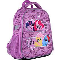 Рюкзак школьный каркасный Kite Education My Little Pony LP21-555S ЧП Бабчи ранец рюкзак ranec, фото 2