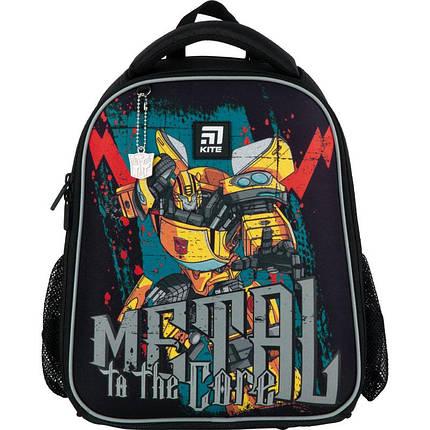 Рюкзак школьный каркасный Kite Education Transformers TF21-555S ЧП Бабчи ранец рюкзак ranec, фото 2
