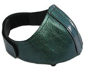 Автопятка кожаная для женской обуви зелёный 608835-8