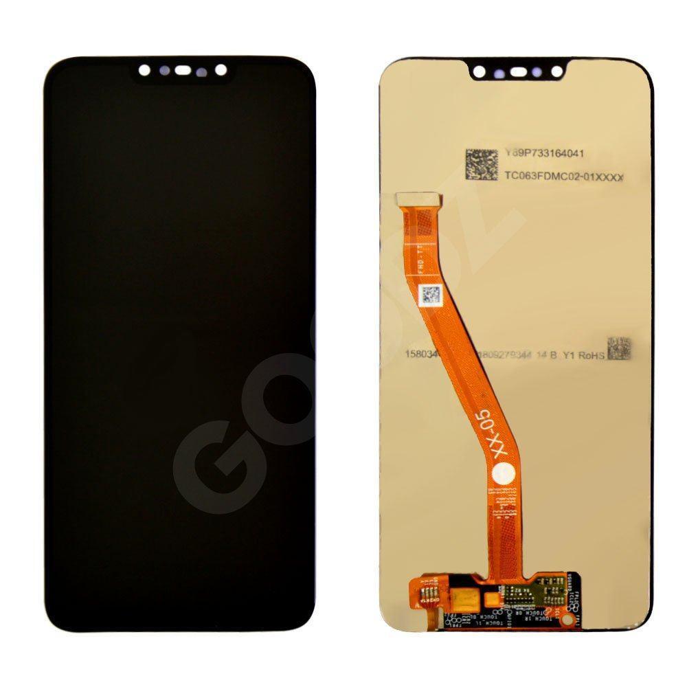 Дисплей для Huawei P Smart Plus, Nova 3i (INE-LX1) з тачскріном в зборі, колір чорний, копія високого
