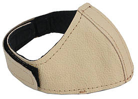 Автопятка кожаная для женской обуви бежевая