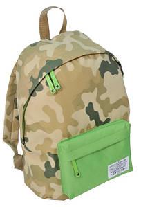 Рюкзак міський Paso CM-222B камуфляж/зелений 15 л