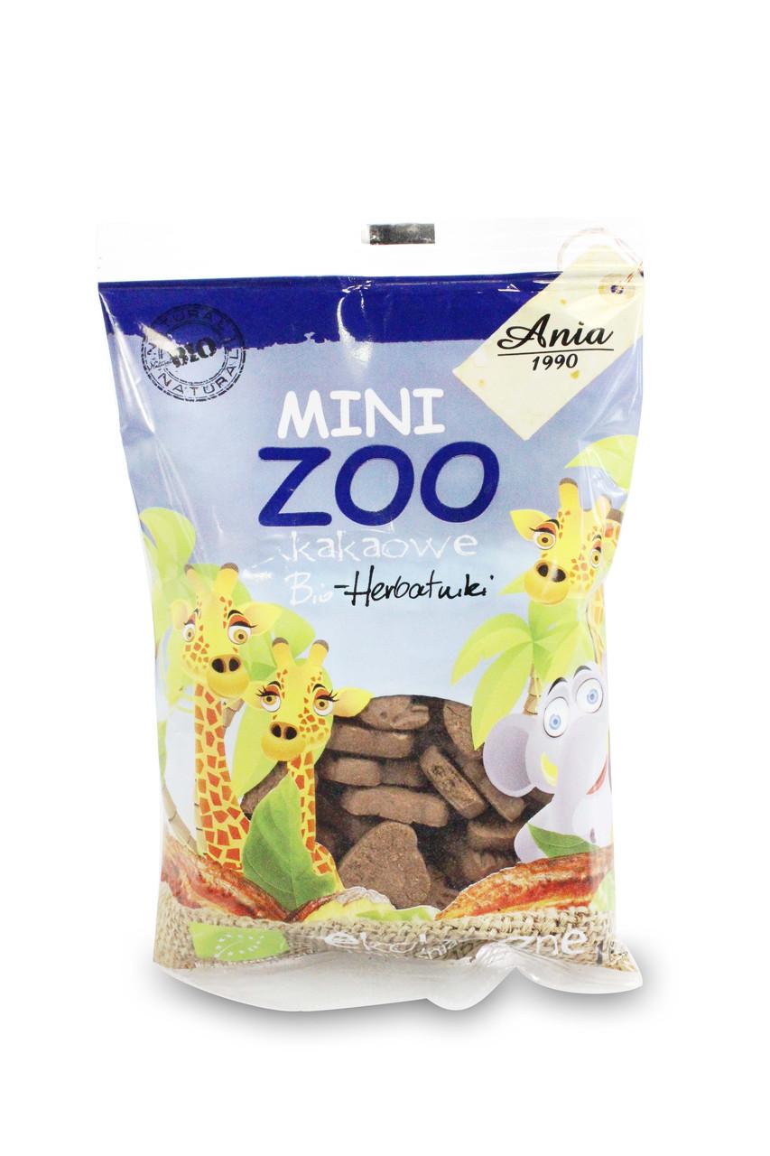 """Печиво з какао """"Mini Zoo"""" 100г ТМ Bio Planete"""