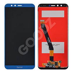 Дисплей Honor 9 Lite (LLD-L31) з тачскріном в зборі, колір синій