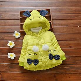 Куртка для дівчаток демісезонна 4940