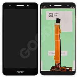 Дисплей Honor 5A (CAM-AL00), Y6 II (CAM-L21) з тачскріном в зборі, колір чорний
