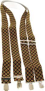 Підтяжки для штанів KWM, Німеччина 110 на 3,6 см 990231