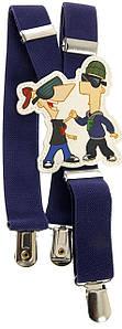 Підтяжки для дитини сині KWM Дісней 60 на 2,5 см