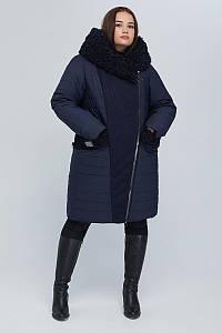 Пальто двобортне CR-902-BLU